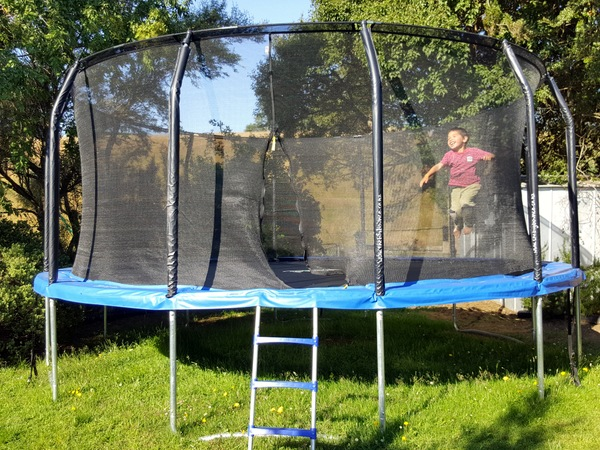 Trampoline at Te Anau Homestay