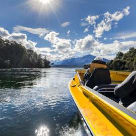 River Anduin Lake Manapouri Jet Boat Walk Talk