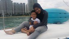 Huda and Haziq