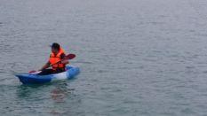 Razif canoeing