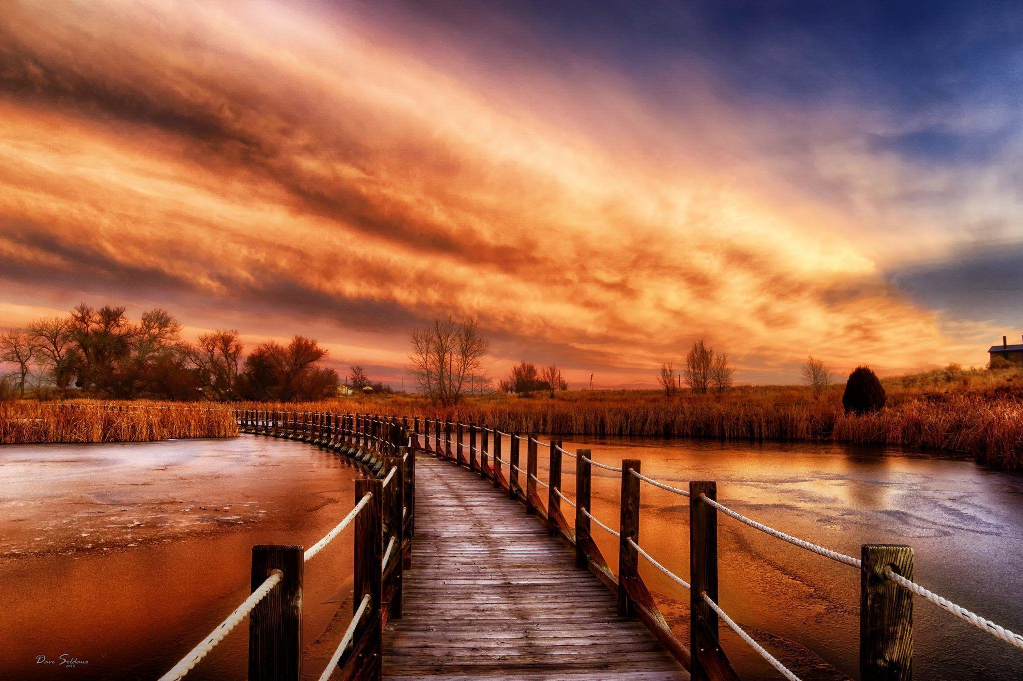 El puente desde Onida