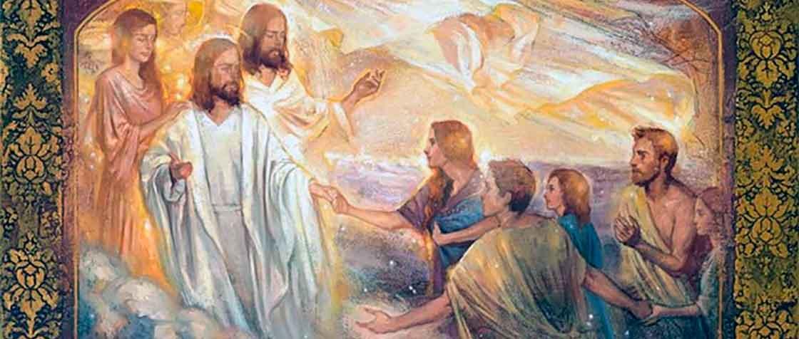 El salvador en el concilio de los cielos