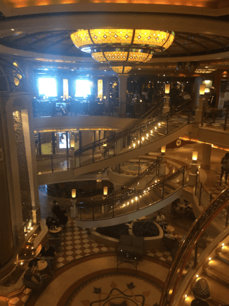 Interior of the Emerald Princess