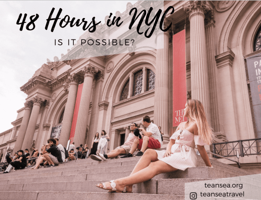 48 Hours in NYC – Is it possible?