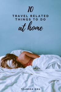 Travel activities at home