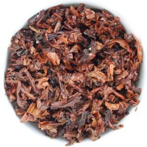 Dark Hearts Puerh Tea wet leaf