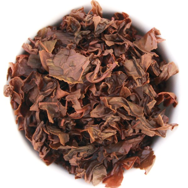 English Breakfast Loose Leaf Black Tea wet leaf