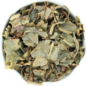 Green Loose Leaf Tea wet leaf