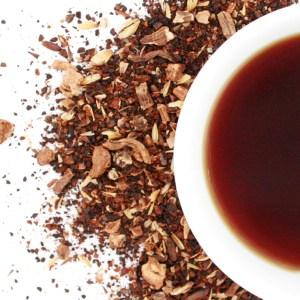 Herbal Cuppa Joe Herbal Blend brewed tea