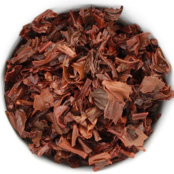 Irish Breakfast Loose Leaf Black Tea wet leaf