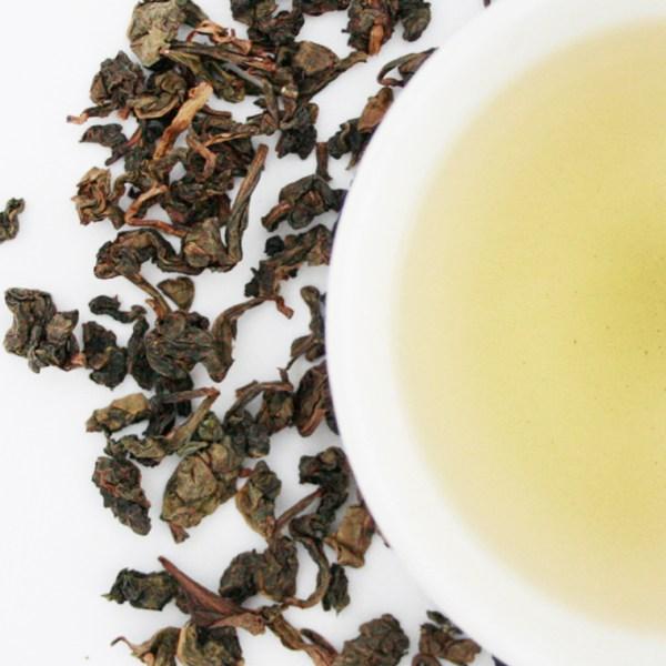 Iron Goddess loose leaf oolong tea brewed tea