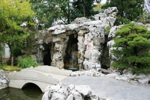 Lan Su Chinese Garden Bridge