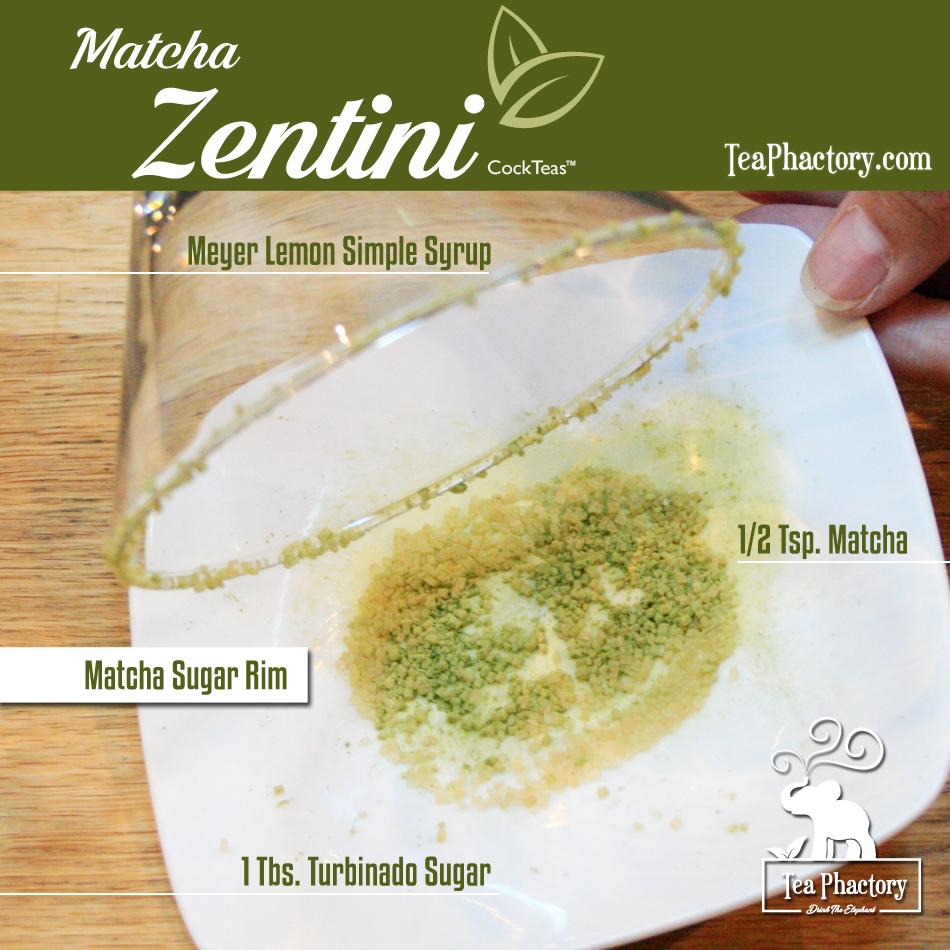 Matcha Zentini Sugar Rim