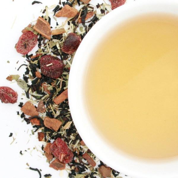 Oatmeal Cookie Loose Leaf Black Tea brewed tea
