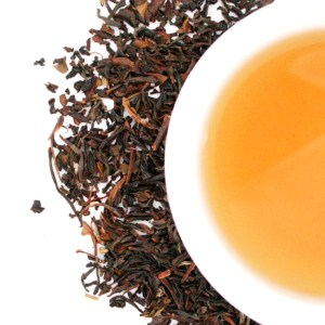 Oolong Loose Leaf Tea brewed tea