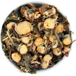 Peppermint Bliss Herbal Blend wet leaf
