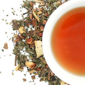 Ragtime Root Beer Herbal Blend brewed tea