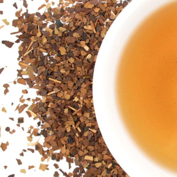 Roasted Yerba Maté brewed tea