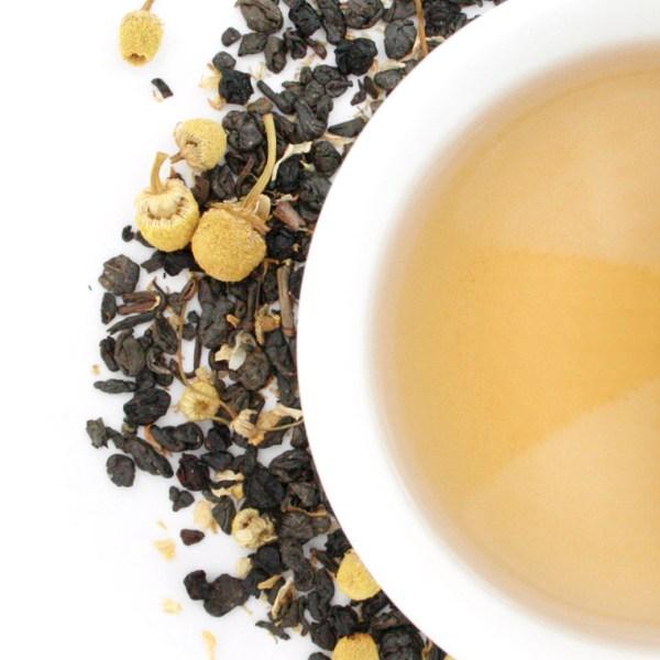 Spirit of '76 Loose Leaf Green Tea brewed tea
