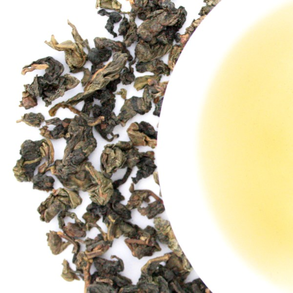Tea Phactory Loose Leaf Oolong Tea brewed tea