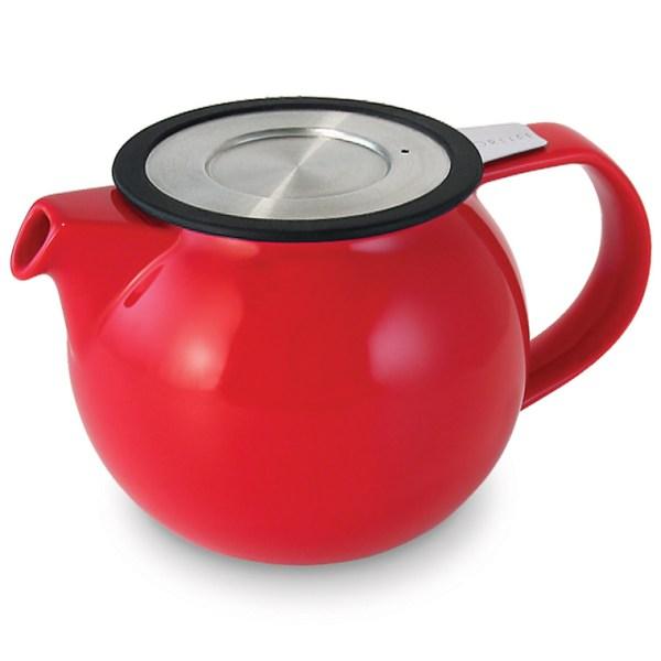 Wholeleaf Teapot Red