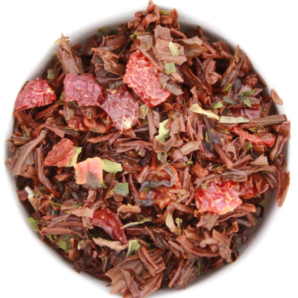 Winter Wellness Loose Leaf Black Tea wet leaf