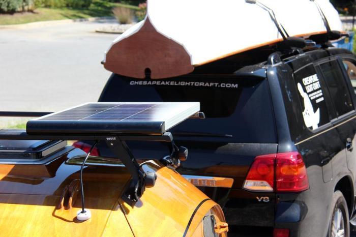 CLC Teardrop Camper Solar Panel