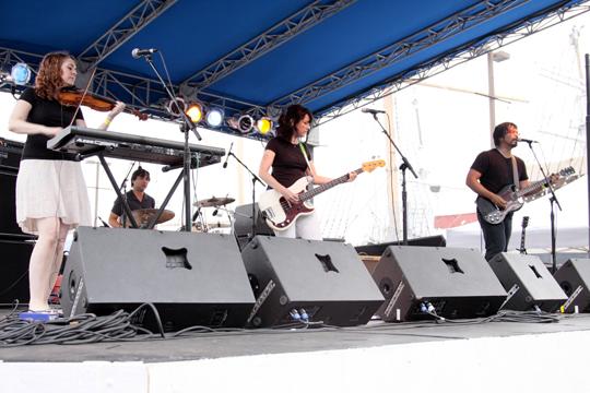 Versus at the Seaport Music Festival