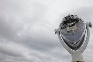 Optical Binoculars at Thousand Islands, Ontario, Canada