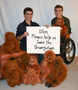 Help us contact Ellen
