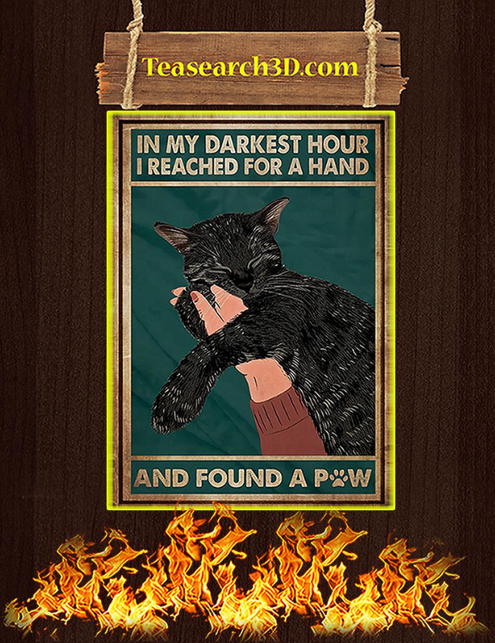 black cat in my darkest hour i reached
