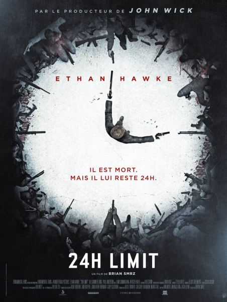 24 Hours To Live French Poster
