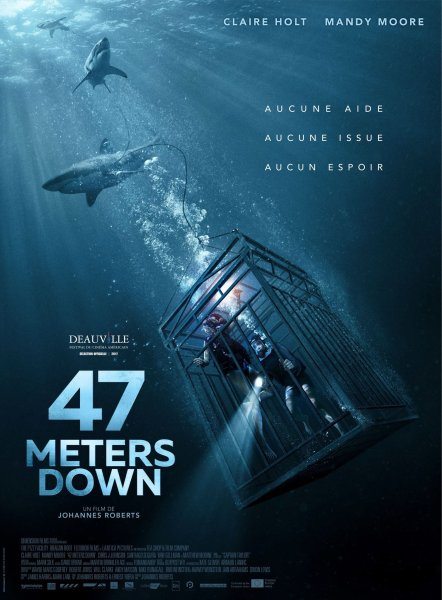 47 Meters Down French Poster