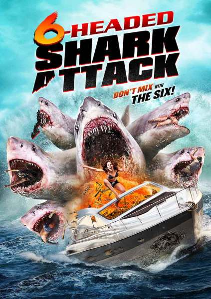 6 Headed Shark Attack Movie Poster