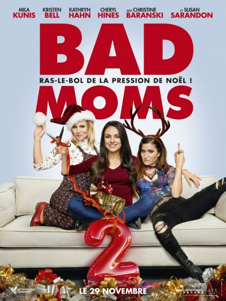 A Bad Moms Christmas French Poster