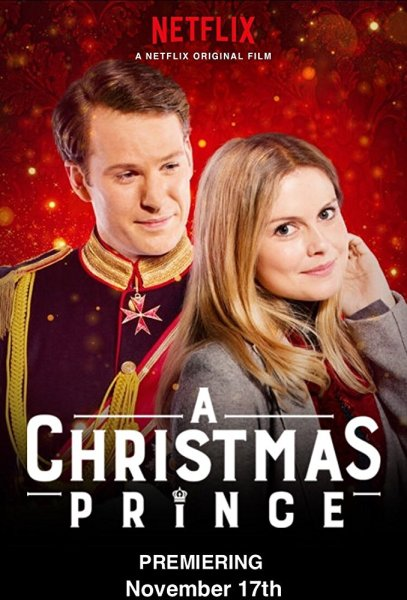 A Christmas Prince Movie Poster