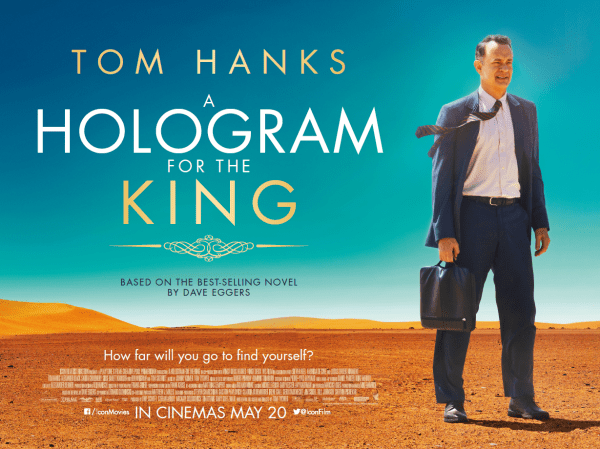 A Hologram for the King UK Billboard