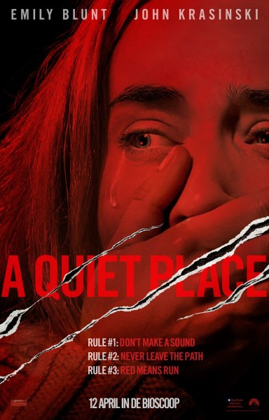 A Quiet Place Dutch Poster