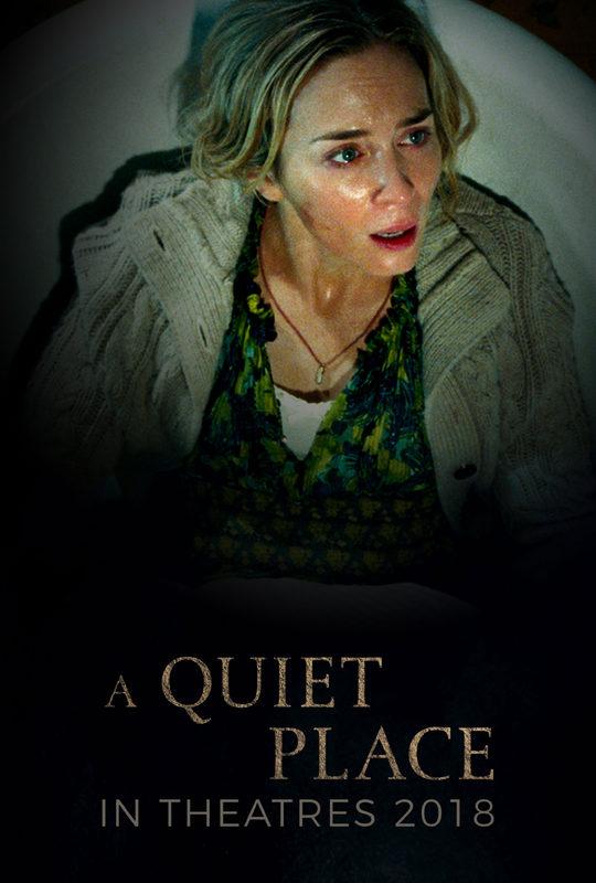 ผลการค้นหารูปภาพสำหรับ A Quiet Place poster