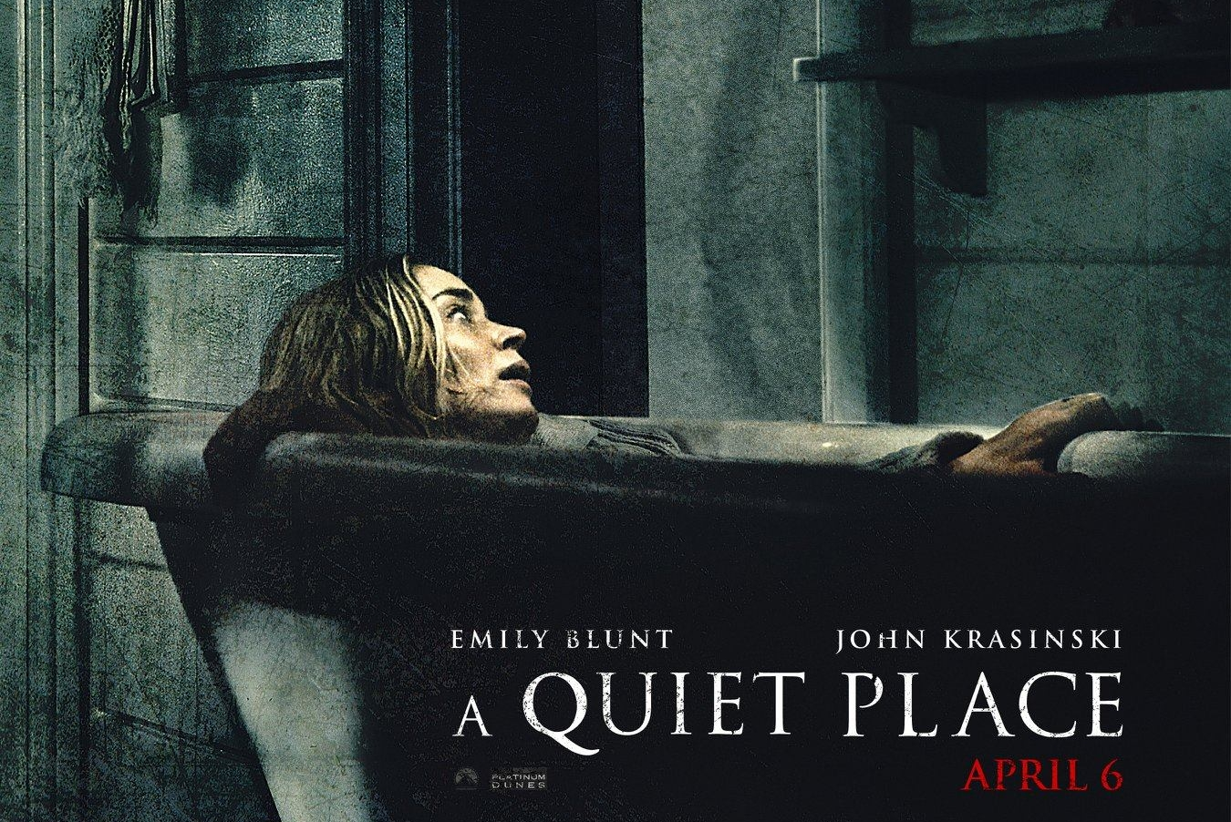 「a quiet place poster」の画像検索結果