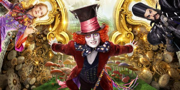 Alice Through the Looking Glass 2016 movie
