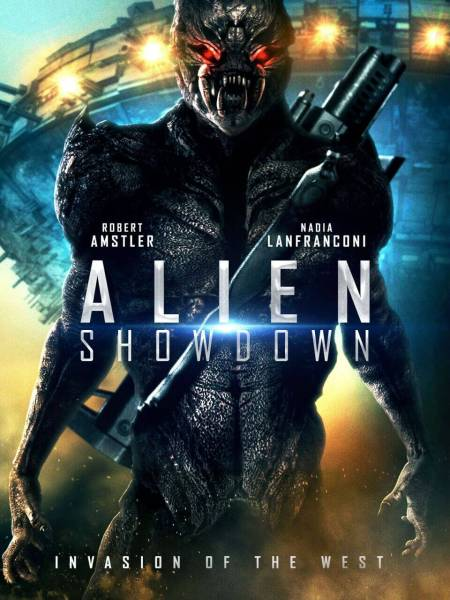 Alien Showdown Movie Poster