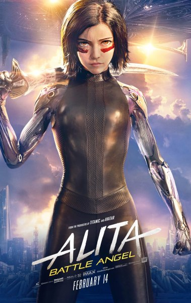 Alita Battle Angel New Film Poster