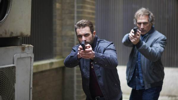 Milo Gibson and William Fichtner - All The Devil's Men Movie - Elite Squad Film