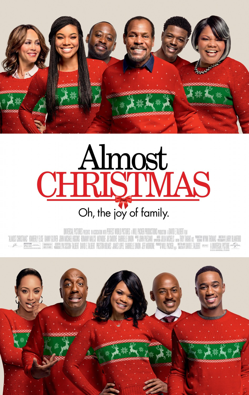 Almost Christmas Movie – Character Posters : Teaser Trailer