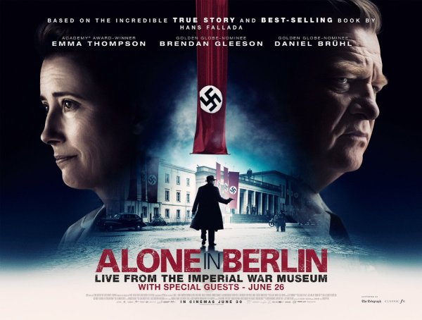 Alone In Berlin UK Poster