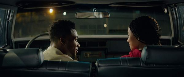 Amandla Stenberg And Algee Smith in The Hate U Give (2018)