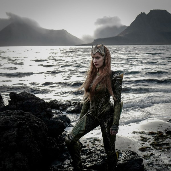 Amber Heard As Mera Justice League Movie