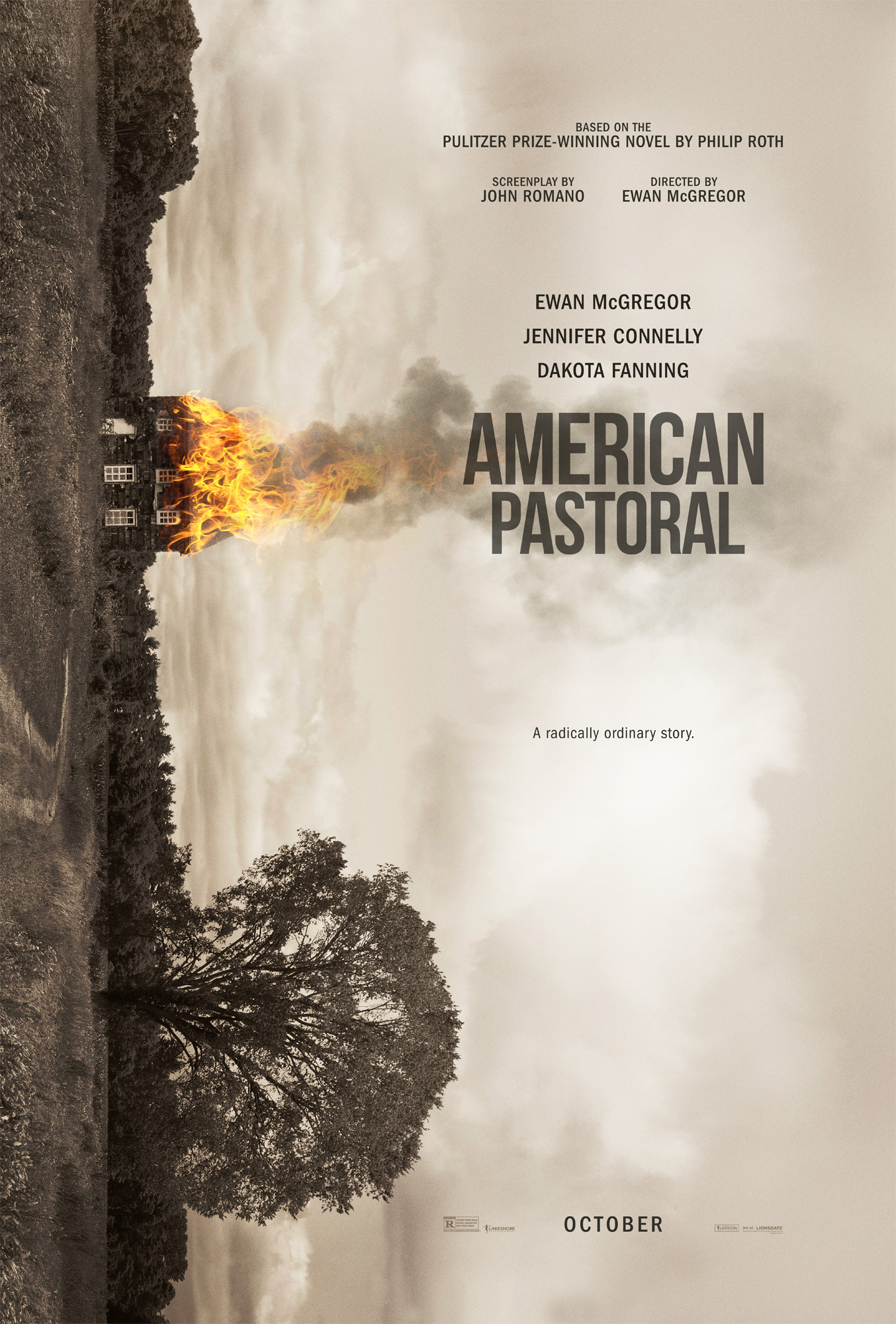 american pastoral Watch video ewan mcgregor stars in 'american pastoral' as a father who learns his missing daughter might be responsible for a post office bombing.