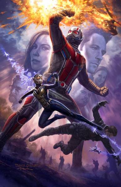 Ant Man 2 Comic Con Poster